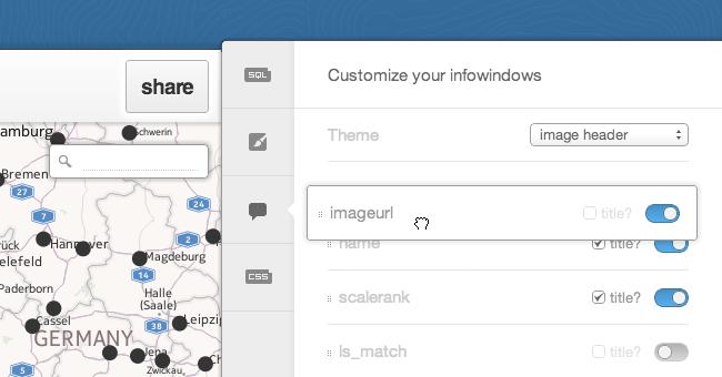 Header Infowindows screenshot