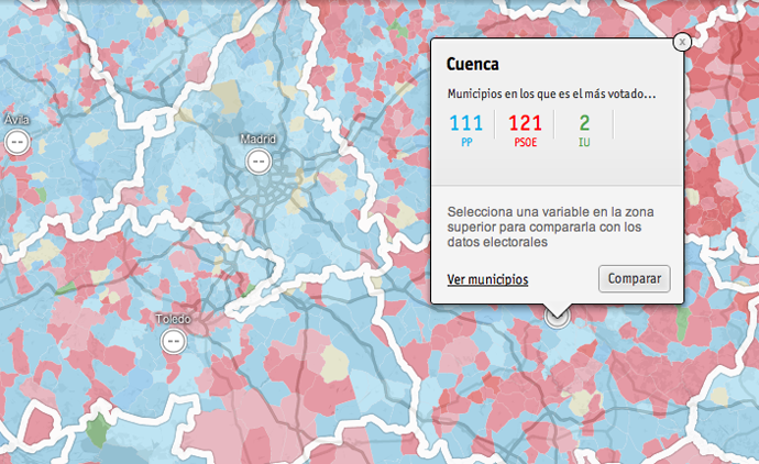 RTVE elections 2011