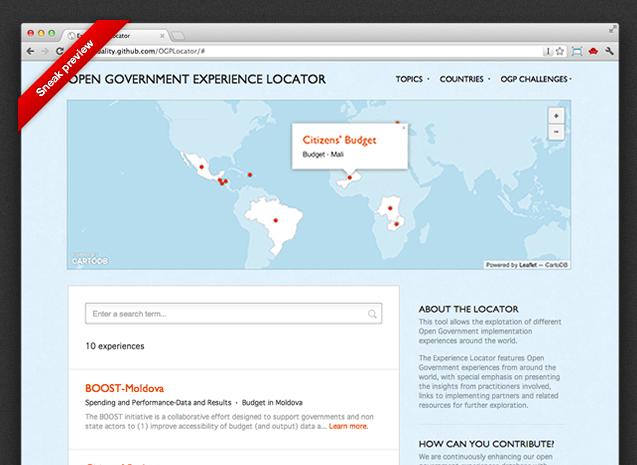 CartoDB at the Open Government Partnership meeting — CARTO Blog